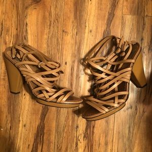 Zara heeled sandals!